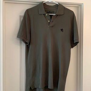 Express men's Polo, Size M Army Green